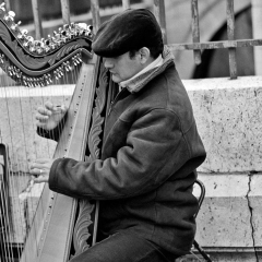 Man and His Harp