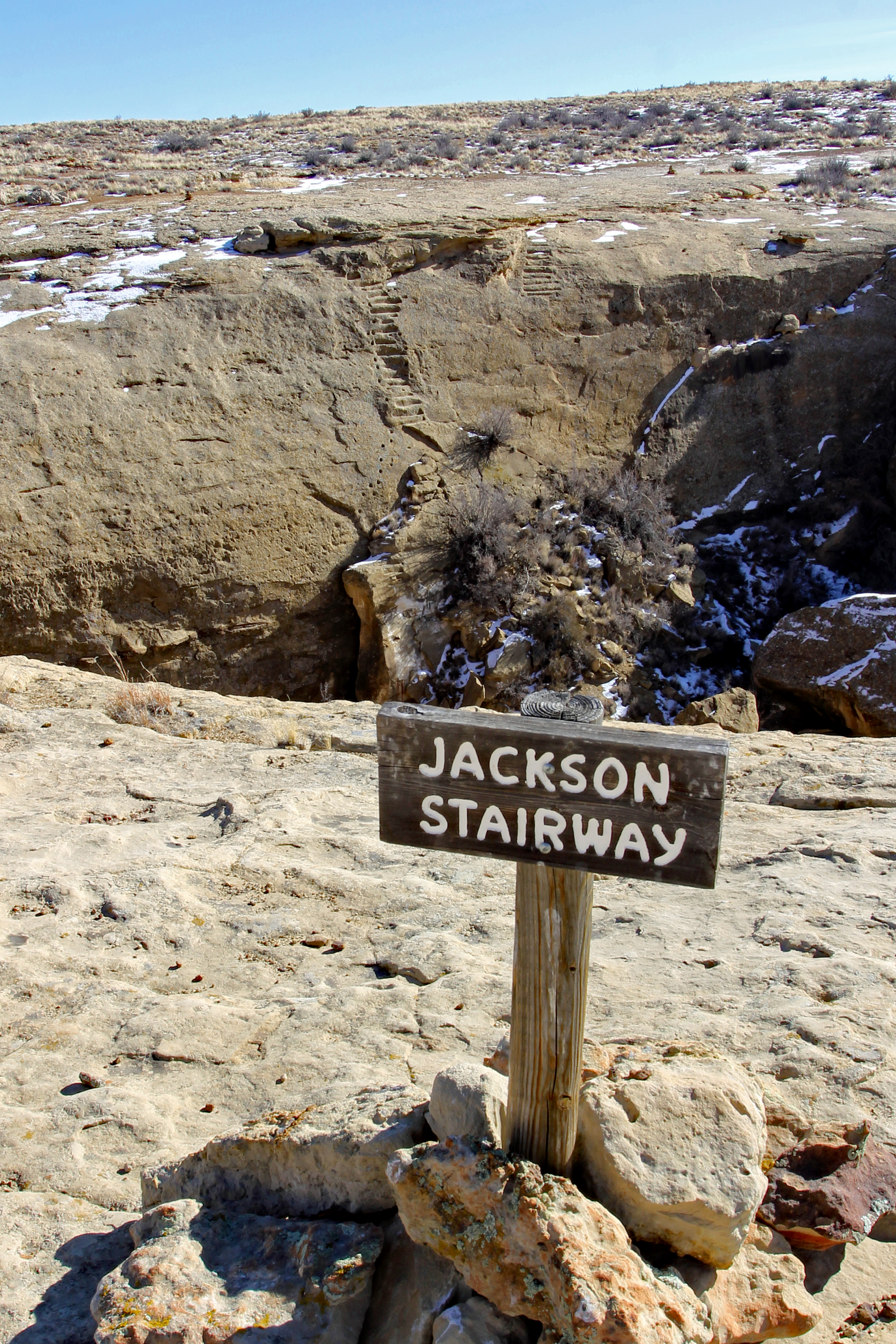 Jackson 's Stairway at Chaco Canyon in Nageezi, NM