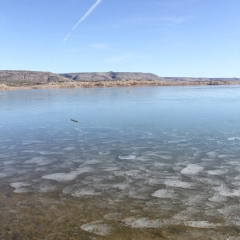 FROZEN COCHITI LAKE